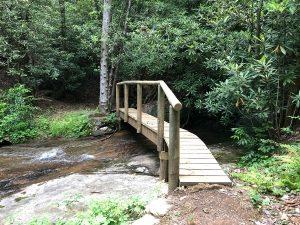 bridge at pinnacle falls